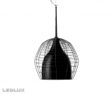 DIESEL with FOSCARINI CAGE Sospensione GRANDE BLACK / BLACK LI0272 20E
