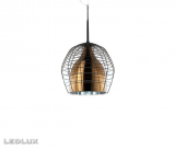 DIESEL with FOSCARINI CAGE Sospensione PICCOLA MARRONE / BRONZO LI0279 50E