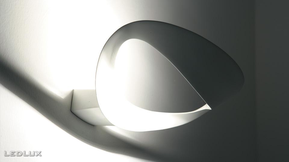 interi rov svietidl bo n n stenn artemide mesmeri white halo 0916010a svietidl ledlux. Black Bedroom Furniture Sets. Home Design Ideas