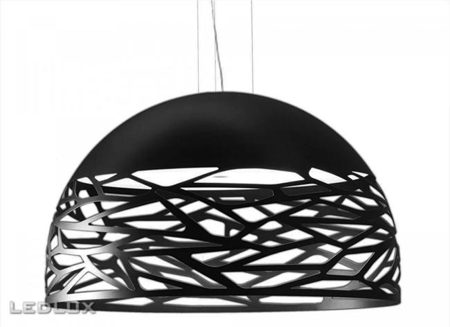 STUDIO ITALIA DESIGN KELLY Large Dome 80 Sospensione Black 141017