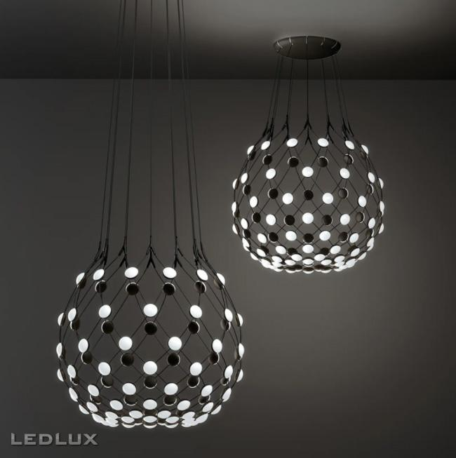 LUCEPLAN MESH 80 LED suspension