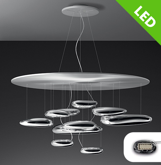 interi rov svietidl stropn artemide mercury led soffitto 1366110a svietidl ledlux. Black Bedroom Furniture Sets. Home Design Ideas