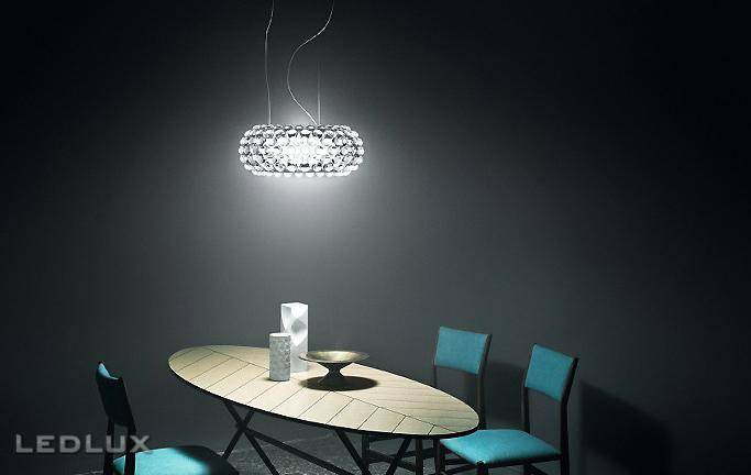 FOSCARINI CABOCHE Sospensione MEDIA LED 138007L 16