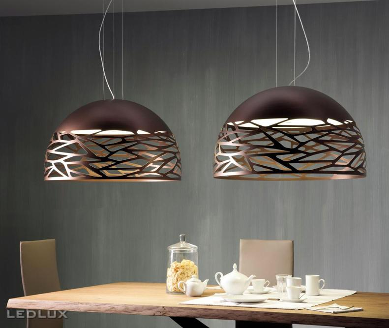 LODES KELLY Large Dome 80 Sospensione Bronze 141010