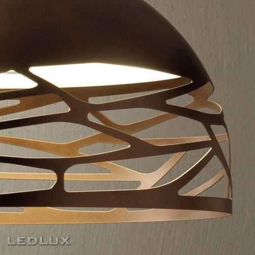 LODES KELLY Small Dome 50 Sospensione Bronze 141009
