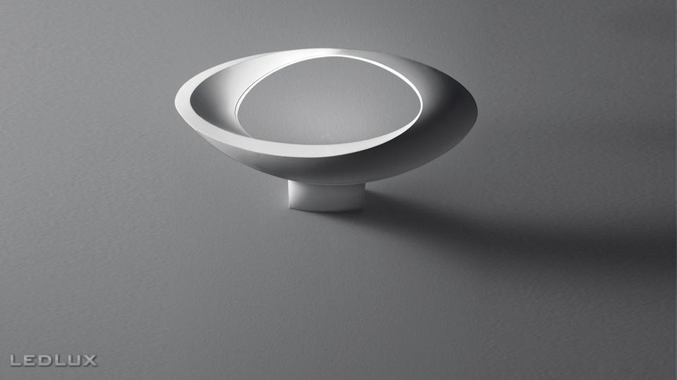 interi rov svietidl bo n n stenn artemide cabildo led parete 1181010a svietidl ledlux. Black Bedroom Furniture Sets. Home Design Ideas
