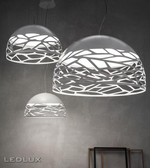 STUDIO ITALIA DESIGN KELLY Small Dome 50 Sospensione White 141002
