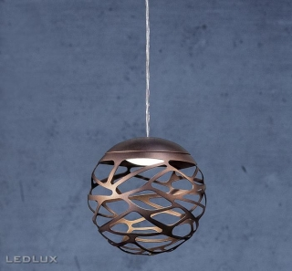 STUDIO ITALIA DESIGN KELLY CLUSTER Sphere Sospensione Bronze 147014