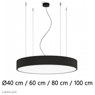ACB Isia LED BLACK pendant