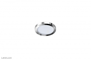 AZZARDO Slim 9 round chrome IP44