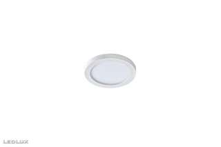 AZZARDO Slim 9 round white IP44