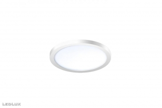 AZZARDO Slim 15 round white IP44