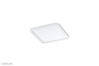 AZZARDO Slim 15 square AZ2837 white IP44 3000 K