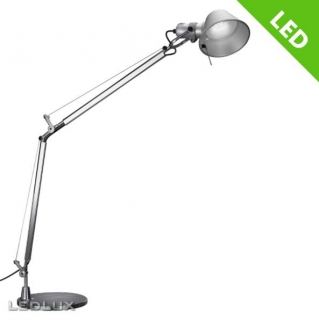ARTEMIDE TOLOMEO Metal grey LED A004800 + A004030