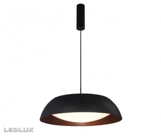 AZZARDO Lenox pendant 60 AZ3148 black/copper
