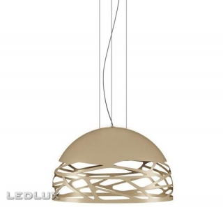 STUDIO ITALIA DESIGN KELLY Small Dome 50 Sospensione Champagne 141019
