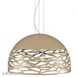 STUDIO ITALIA DESIGN KELLY Large Dome 80 Sospensione Champagne 141021