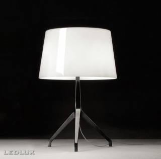 FOSCARINI Lumiere XXS 1910012C 11 Black Chrome + White
