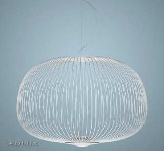 FOSCARINI Spokes 3 LED sospensione WHITE