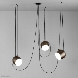FLOS Aim 3 LED Anodized Brown
