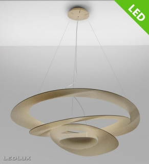 ARTEMIDE PIRCE LED Gold Sospensione 1254120A