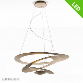 ARTEMIDE PIRCE MINI LED Gold Sospensione 1256120A