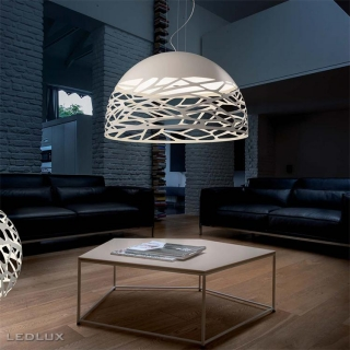 STUDIO ITALIA DESIGN KELLY Large Dome 80 Sospensione White 141001