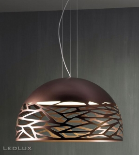 STUDIO ITALIA DESIGN KELLY Large Dome 80 Sospensione Bronze 141010