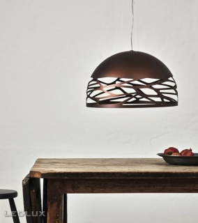 STUDIO ITALIA DESIGN KELLY Medium Dome 60 Sospensione Bronze 141014