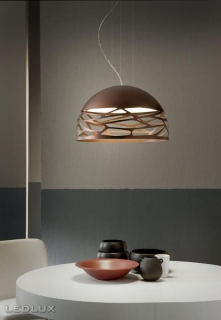 STUDIO ITALIA DESIGN KELLY Small Dome 50 Sospensione Bronze 141009