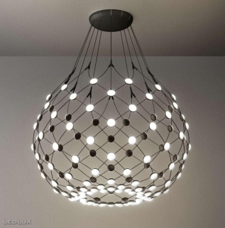LUCEPLAN MESH 100 LED suspension