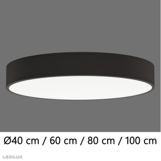 ACB Isia LED BLACK ceiling