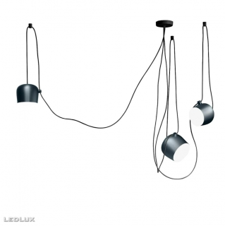 FLOS Aim 3 LED Blue steel anodized