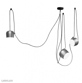 FLOS Aim 3 LED Light silver anodized