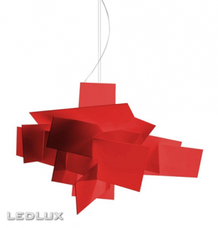FOSCARINI BIG BANG Sospensione XL LED Red 1510072L 63