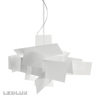 FOSCARINI BIG BANG Sospensione XL LED White 1510072L 10